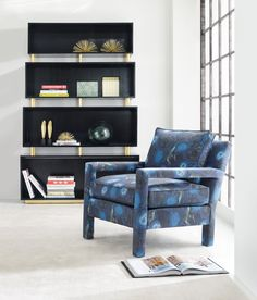 Cynthia Rowley for Hooker Furniture Skyline Bookcase 1586-10446A-BLK3