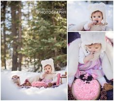 f914272c7bf We had a blast capturing this cake smash up in Evergreen! Pink and gold  made · Birthday Girl ...