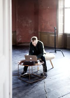 Behind the scenes of Broste Copenhagen AW 14 Catalogue. Styling Nathalie Schwer. Photographer Line Thit Klein.