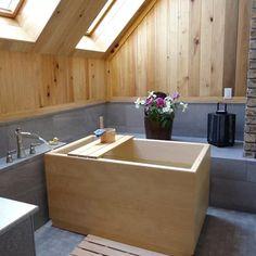 Luxury Bathtubs & Whirlpools | Perigold Attic Bathroom, Bathroom Layout, Bathroom Interior, Modern Bathroom, Small Bathroom, Zen Bathroom Decor, Bathtub Decor, Industrial Bathroom, Bathroom Lighting