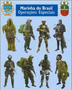 GRUMEC – as Forças Especiais da Marinha do Brasil.. Operações Especiais 2f8caca71db