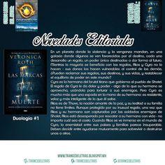 """""""Las Marcas de la Muerte"""" (Duología #1) de Veronica Roth"""