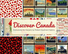 Sew Sisters Quilt Shop: Canadian Themed Fabric! Canadian Quilts, Quilts Canada, Discover Canada, Quilting Designs, Quilt Design, Canada 150, My Roots, Robert Kaufman, Gorgeous Fabrics