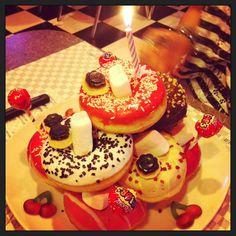 Donuts cake!!!