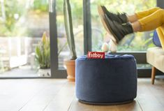 Silky smooth and elegant yet practical, the Fatboy Point Velvet is the pouf that fits into any interior. Ideal as a side table or a luxury ottoman. Discover the whole collection! Velvet Serie, Blue Point, Fashion Room, Bean Bag, Scandinavian Design, Dark Blue, Abs, Indoor, Home Decor Accessories