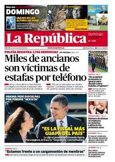 LaRepublica Lima - 07-04-2013 | LaRepublica.pe
