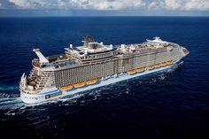 The world's biggest #cruise ship, #AllureoftheSeas!