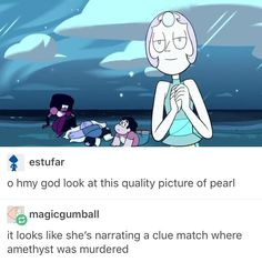 That would make a great mystery episode, actually