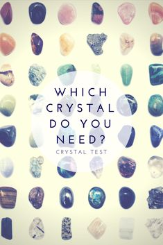 Discover what crystal you are drawn to and its meaning. #crystalhealing #crystalquiz #ad