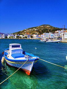 Korthi village Andros Island Cyclades