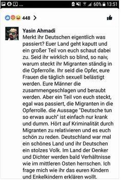 Warum müssen Migranten die Deutschen aufklären?