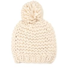 Add a touch of winter white to your outfit tomorrow with one of these cute beanies. Get a loose-fitting style so you can transition your hair from beanie to wo…