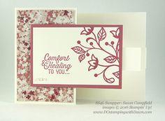 6 Stampin' Up! Flourishing Phrases Bundle Swap Samples