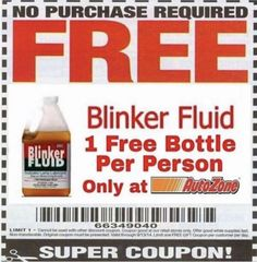 Free at autozone, get yours