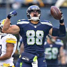The Jimmy Graham #88 Seattle Seahawks - Can't wait to see Jimmy in full attack mode this season.