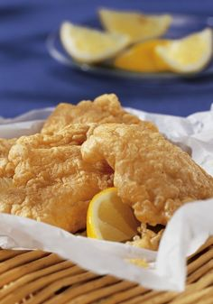Batter Fried Fish Recipe from Easy Everyday Gluten-Free Cooking Cookbook