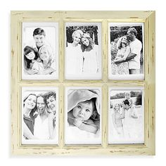 Windowpane Collage Picture Frame from Bed Bath and Beyond (no longer available online) that I love.