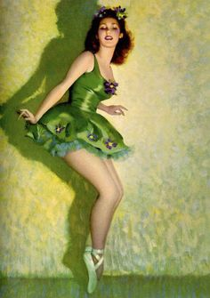 Green Ballerina, art by Andrew Loomis
