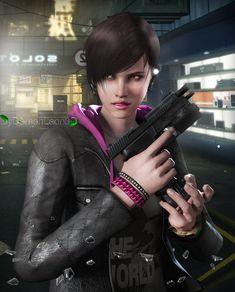 Moira Burton by on DeviantArt Moira Burton, Saga, Videogames, Eyes Game, Resident Evil Game, Revelation 2, Army Women, Warrior Girl, Red Bikini