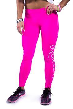 Ladies Leggings pink | Gym Aesthetics
