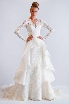 Dennis Basso Wedding dresses.