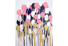 jennifer latimer artist   Jennifer Latimer, A Mod Floral