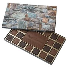 Stone Wall 45 Piece Box Of Chocolates - kitchen gifts diy ideas decor special unique individual customized