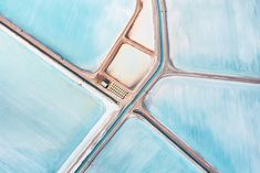 Blue Fields. The images were shot from a light aircraft flying at between 4,000 & 5,000ft.