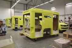 Volkswagen Amarok ambulance modules