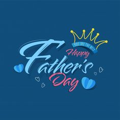 Happy father's day calligraphy with line... | Premium Vector #Freepik #vector #heart #party #crown #man Happy Dad Day, Happy Fathers Day Greetings, Father's Day Greetings, Daddy Day, Father's Day Celebration, Father's Day Greeting Cards, Retro Cartoons, Super Dad, Typography Letters