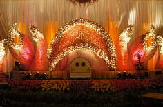 Image result for stages decor pictures for reception