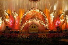 Lighting stage decoration