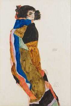 Moa Egon Schiele 1911
