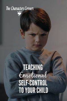 Teaching Emotional Self-Control to Your Child on The Character Corner