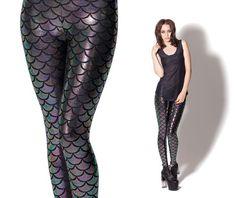 Mermaid leggings. BlackMilkClothing