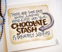 inktober day ten, prompt: jump another chocolate-themed post. seems like my brain always jumps to that subject, no . Funny Chocolate Quotes, Chocolate Lovers Quotes, Chocolate Humor, Chocolate Day, Chocolate Shop, Healthy Chocolate, Positive Energie, Creative Lettering, I Love Coffee