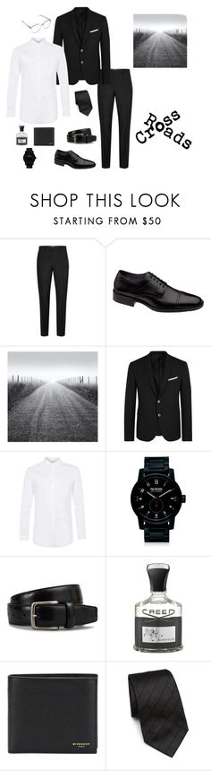 """Elemental Candidate of Crossroads ~Warren"" by carlisafights ❤ liked on Polyvore featuring Topman, Johnston & Murphy, Neil Barrett, Nixon, Tod's, Creed, Givenchy, Armani Collezioni, men's fashion and menswear"