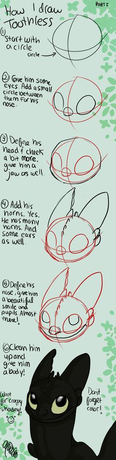 How+to+Draw+Toothless+Tutorial+by+Spiritwollf.deviantart.com+on+@deviantART