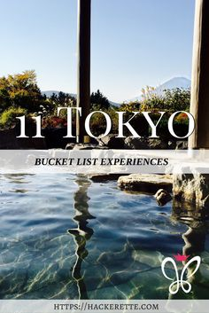 Heading to Japan? Here are 11 Unique Tokyo Bucket List Experiences that you definitely won't want to miss! Tokyo Japan Travel, Japan Travel Guide, Go To Japan, Asia Travel, Japan Trip, Tokyo Trip, Travel List, Travel Guides, Places To Travel