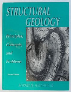 STRUCTURAL GEOLOGY Robert D, Geology, Concept, Ebay, Poster, Posters, Billboard