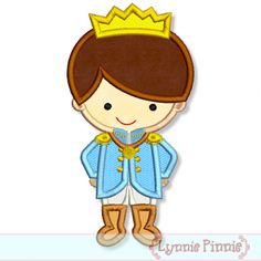 Little Prince Applique 4x4 5x7 6x10