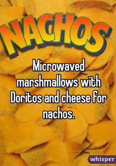 Marshmallow Nachos. A Weird Food Combination You Might Just Have To Try