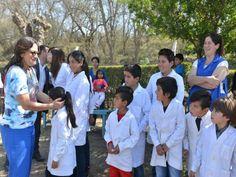Lucia Corpacci inauguró un Playón Polideportivo en la localidad de Los Navarros, refacciones de la Posta Sanitaria y la Comisaría y refacción de Escuela