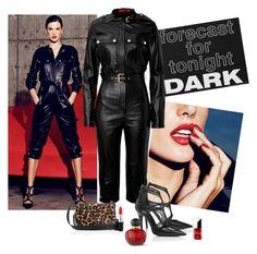 """Alessandra Ambrosio for Tamara Mellon"" by katiethomas-2 ❤ liked on Polyvore featuring Tamara Mellon, MAC Cosmetics and Christian Dior"