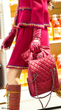 Chanel RTW AW 2014-15 #ChanelShoppingCenter Visit espritdegabrielle.com | L'héritage de Coco Chanel #espritdegabrielle