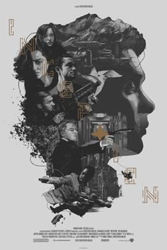 Com traços marcantes, polonês Gabz produz vários trabalhos de ilustrações e entre eles estão algumas releituras de cartazes de famosos filmes.