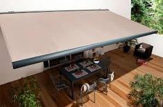 Awnings for garden Outdoor Awnings, Window Awnings, Pool Shade, Minimalist Apartment, Pergola With Roof, Outside Living, Home Upgrades, Terrazzo, Backyard Patio