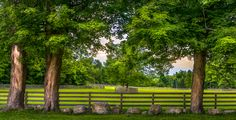A horse ranch in the Caledon Hills. Taken on a late spring evening. by Mike Feraco on 500px