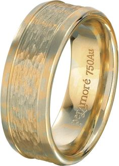 per Amore men's wedding band