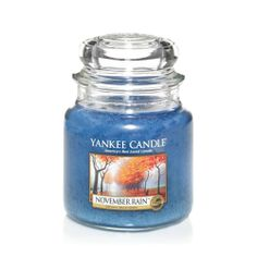 Yankee Candle NOVEMBER RAIN - Only 1 small Jar remaining, a beautiful , masculine and musky fragrance - this fragrance is now retired - so, if this is your favourite - order whilst we still have stock